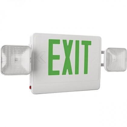 LED EXIT & EMERGENCY COMBO